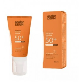 ACOFARDERM SPF50+ GEL FACIAL INVISIBLE 50ML