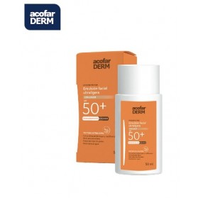 ACOFARDERM SPF50+ EMULSIÓN FACIAL ULTRALIGERA CON COLOR 50 ML