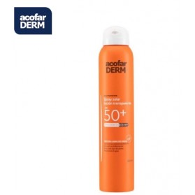 ACOFARDERM SPF50+ SPRAY SOLAR LOCIÓN TRANSPARENTE 200ML