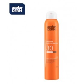 ACOFARDERM SPF30 SPRAY SOLAR LOCIÓN TRANSPARENTE 200ML
