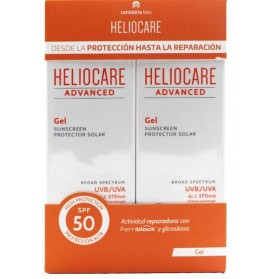 PACK HELIOCARE ADVANCED SPF50+ GEL 200ML